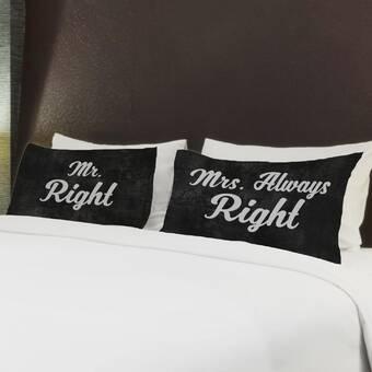 Trinx Aylesbury 2 Piece Together We Have It All Pillow Case Set Wayfair