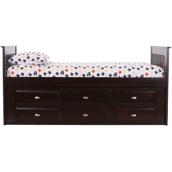Nila Rake Mate S Captain Twin Sleigh Bed With Drawers