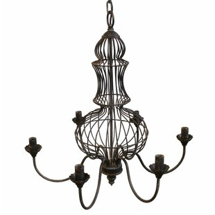 Gracie Oaks LaTayna 6-Light Chandelier