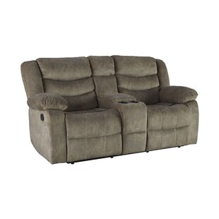Eila Reclining Loveseat by Red..