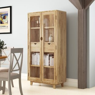Paquette Standard Display Cabinet By Bloomsbury Market