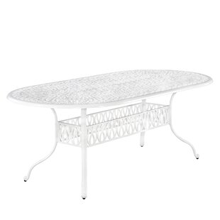 Nori Metal Dining Table by One Allium Way