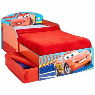 Epsilon Cars 70 X 140cm Covertible Toddler Bed By Zoomie Kids