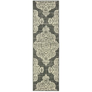 Stephanie Casual Gray Indoor/Outdoor Area Rug