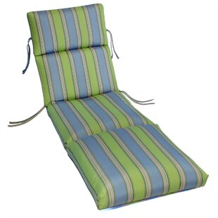Beachcrest Home Livadia Indoor/Outdoor Sunbrella Chaise Lounge Cushion