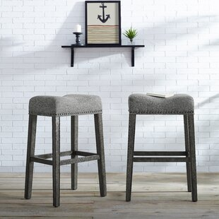 Prescot 29 Bar Stool (Set of 2) by Gracie..
