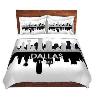 East Urban Home City IV Dallas Texas Duvet Set
