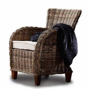 Leverett Armchair with Cushions (Set of 2) by Rosecliff Heights