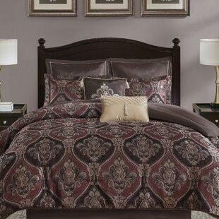 Clara 8 Piece Chenille Jacquard Comforter Set by Fleur De Lis Living
