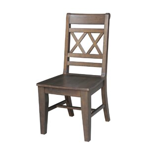 Loon Peak San Jose Solid Wood Dining Chair (Set of 2)