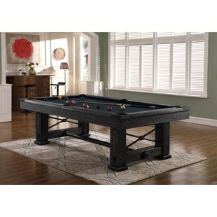 Rio Grande Weathered Raven Slate Pool Table
