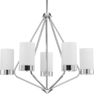 Riaria 5-Light Shaded Chandelier by Mercury Row