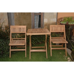 Windsor 3 Piece Teak Bistro Set