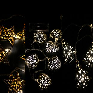 3 Piece 10 Light LED Novelty String Light Set By Sol 72 Outdoor