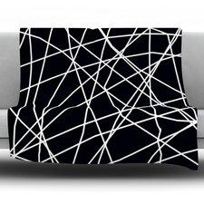 Paucina by Trebam Fleece Throw Blanket