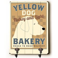 Yellow Dog Bakery Leash Planked Wood Wall Mounted Coat Rack by Andover Mills
