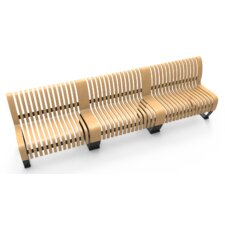 Nova C Wood Bench (Set of 3) by Green Furniture Concept