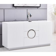 Modern 3 Drawer Accent Cabinet by BestMasterFurniture