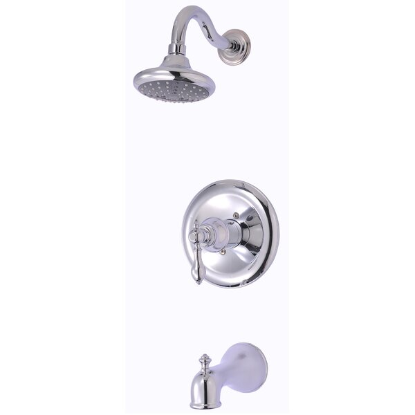 ultra faucets signature pressure balance tub and shower faucet with single lever handle u0026 reviews wayfair