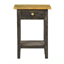 Carol End Table by Antique Revival