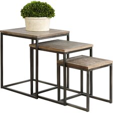Bomani 3 Piece Nesting Tables by Uttermost