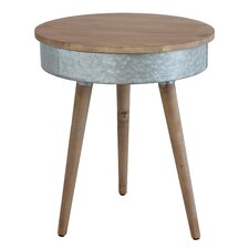 Sonoma Metal End Table by Creative Co-Op