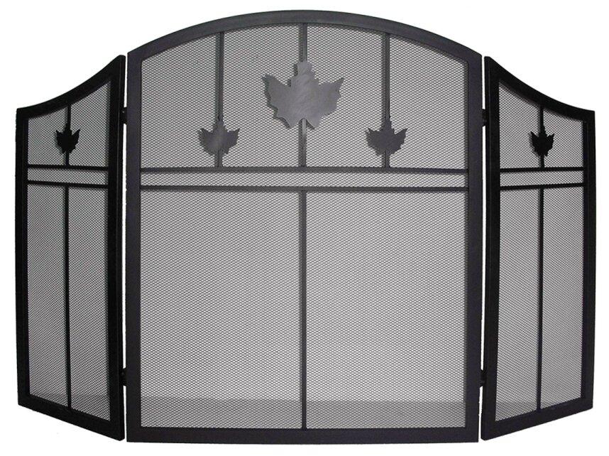 Fireplace Design metal fireplace screen : Dyna-Glo 3 Panel Iron Fireplace Screen & Reviews | Wayfair