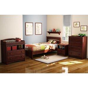 sweet morning twin panel bedroom set