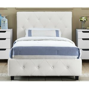 salina upholstered platform bed - Bed Frame For Twin Bed
