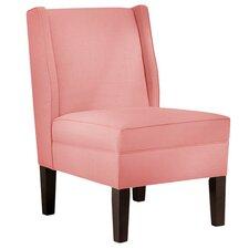 Ella Linen Slipper Chair by Skyline Furniture