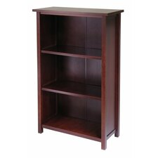 Milan 43 Standard Bookcase by Luxury Home