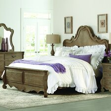 Chrysanthe Panel Bed by Homelegance