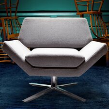 Sly Lounge Chair in Grey by Nuevo