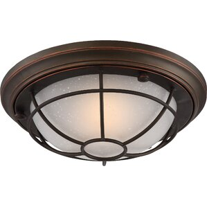 Glencourt 1 Light Outdoor Flush Mount