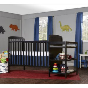 Full Size 4 In 1 Convertible 2 Piece Crib Set