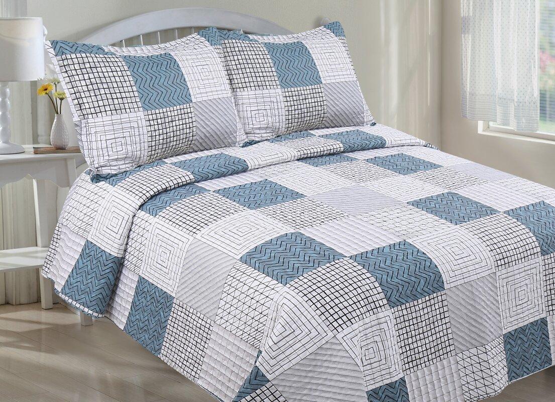 Bed sheet set with quilt -  Twin Bedding Sets Sku Lcmh1113 Default_name