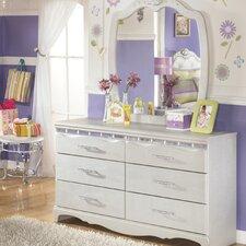 Sylvia 6 Drawer Double Dresser by Viv + Rae