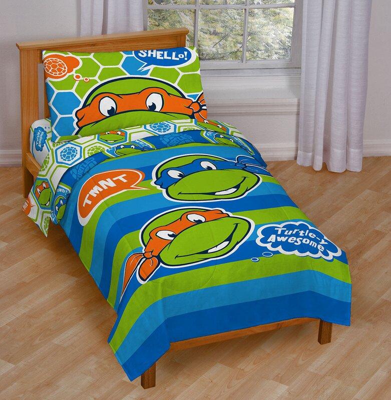 nickelodeon teenage mutant ninja turtles awesome toddler bedding