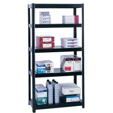 Boltless Steel 5 Shelf Shelving Unit by Safco Products Company