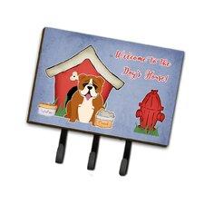 Dog House English Bulldog Leash or Key Holder by Caroline's Treasures
