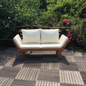 Manhattan Double Sun Lounger with Cushion