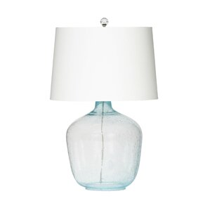 Seeded Glass Table Lamp Blue Seeded Glass Table Lamp Kirklands