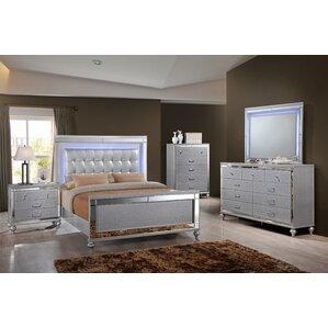Regents Panel Customizable Bedroom Set