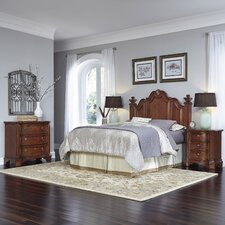 Santiago Panel 4 Piece Bedroom Set by Home Styles