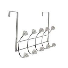 Bejeweled Over the Door 5 Hook Rack by Richards Homewares