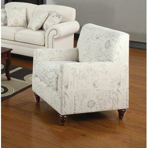 Axelle Linen Blend Chair by Lark Manor