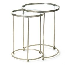 Baumgardner Circle 2 Piece Nesting Table Set by Brayden Studio