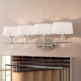 Willa Arlo Interiors Lewis 4-Light Vanity Light