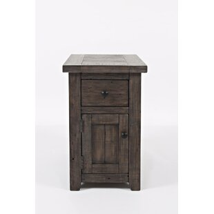 Westhoff End Table with Storage by Gracie Oaks