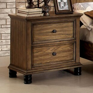 Compare & Buy Zebadiah 2 Drawer Nightstand by Gracie Oaks